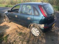 *Spare or Repair* Vauxhall Corsa.