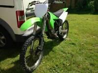 2005 Kx250f swap