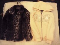 7/8 yr old girls coats