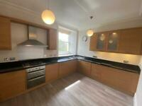 Complete Kitchen With Black Granite Worktops & Splash Backs