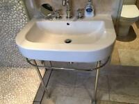**BARGAIN** Duravit Happy D Sink and taps