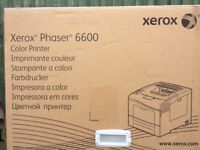 Xerox Phaser 6600 Colour Printer Brand New