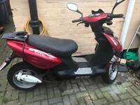 BTM 50cc Rebel scooter/moped