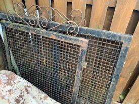 Steel gates and driveway gates