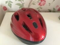 Red Bike helmet. Medium size. Excellent condition