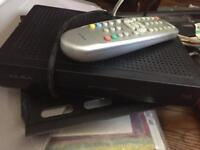 """32"""" TV with Tilting Wall Mount + Freeview Box"""