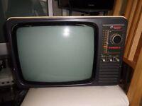 Retro vintage Bushranger3 B/W TV