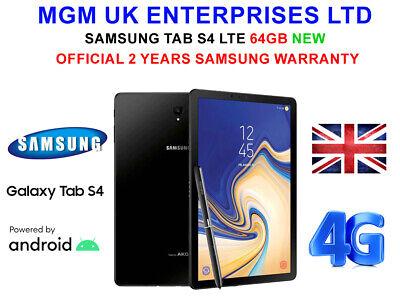 Samsung Galaxy Tab S4 SM-T835 10.5 Wi-Fi+4G LTE NEW S PEN