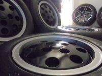 "13"" retro Pepper Pot alloys wheels 4 stud ford Capri Xr3i Classic mini Etc 4x100 vw lupo"