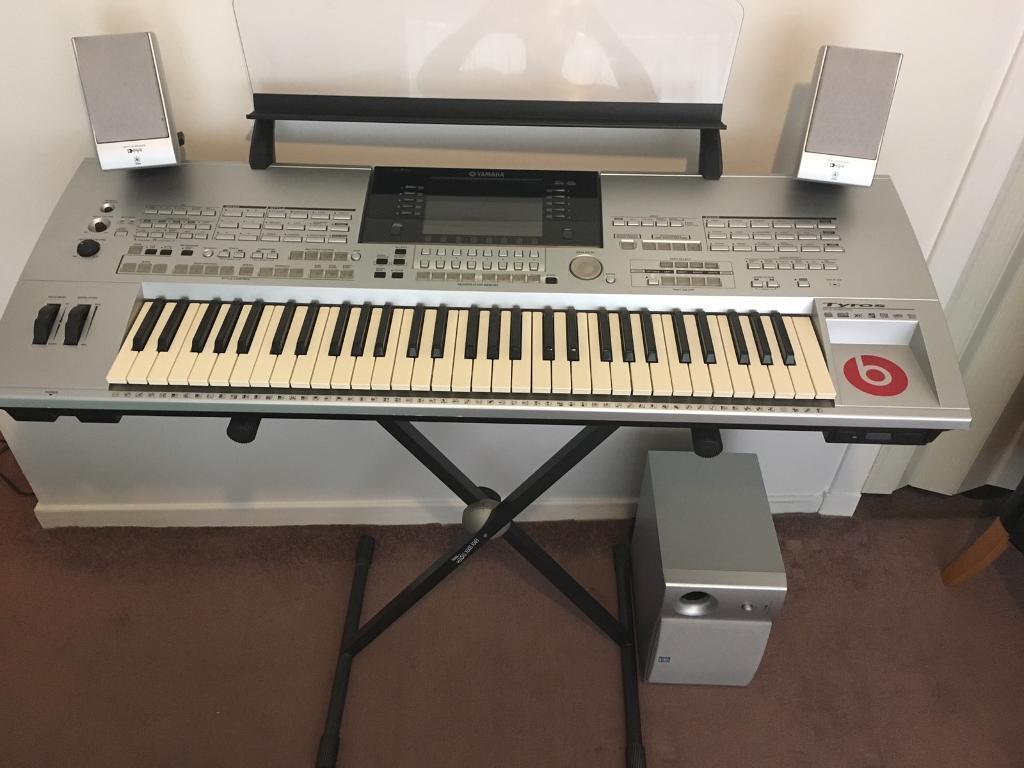 yamaha tyros 1 kyboard in east end glasgow gumtree. Black Bedroom Furniture Sets. Home Design Ideas