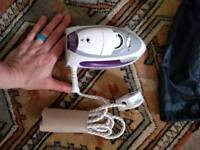 Travel iron, used once