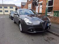 2010 Alfa Romeo Giulietta Lusso 1.6 Jtdm-2 Grey + High Spec with AC, Bluetooth, 6 Gears