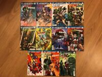 DC UNIVERSE REBIRTH SUICIDE SQUAD COMIC ISSUES 1-11 FIRST PRINTS