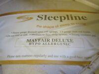 Single bed mattress hypo allergenic