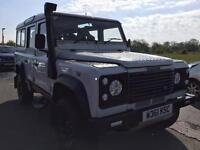 ONE OF A KIND, landrover defender 110 TD5 very sought after, long MOT, low miles