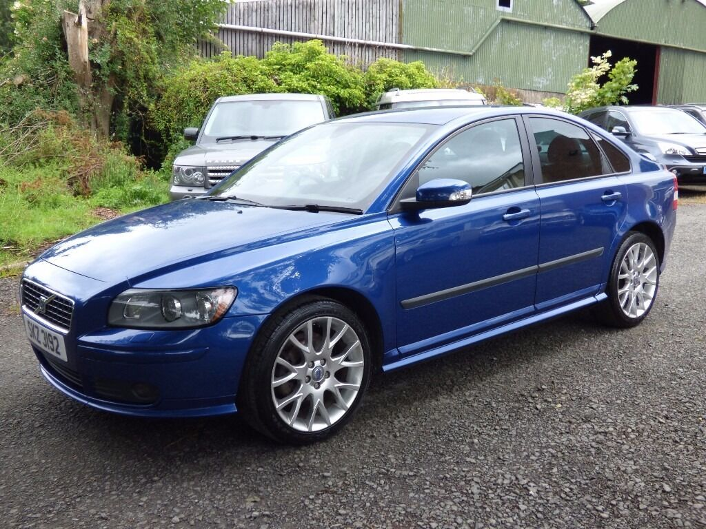 immaculate 2007 volvo s40 2 0 sport brilliant blue pearl. Black Bedroom Furniture Sets. Home Design Ideas