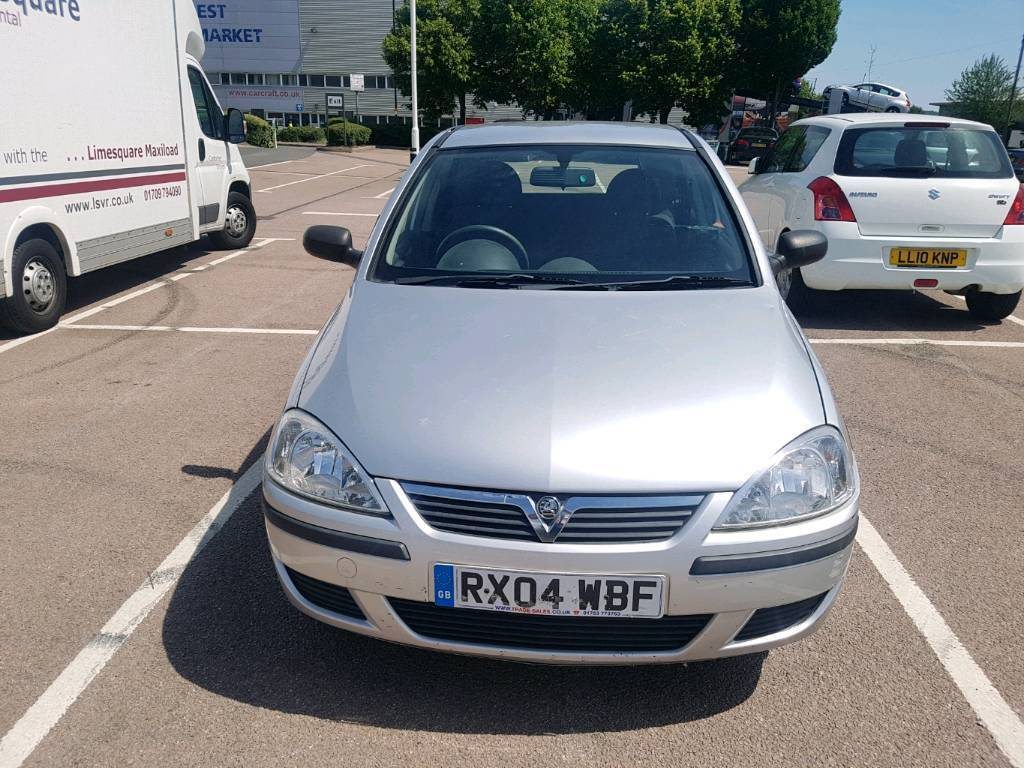 2004 VAUXHALL CORSA 1.2 5 DOOR HATCH BRILLIANT TAX & MOT. PERFRCT DRIVE