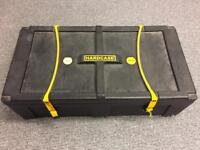 Large drums hardware case with wheels