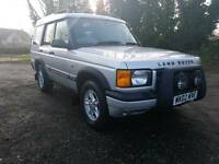 Land Rover Discovery 2.5 diesel manual with service history and MOT in good running order