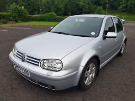 2002 VOLKSWAGEN GOLF 1.9 GT TDI I YEAR MOT CLEAN CAR £1295