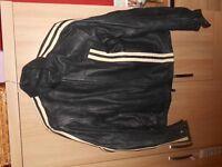 Genuine Mens Leather Motorbike Jacket