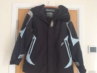 GILL Offshore (OS2) Sailing Jacket (Ladies Size 18) Navy Blue and Pale Blue Worn Twice
