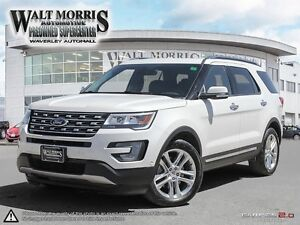 2017 Ford Explorer Limited - LEATHER, HEATED SEATS, NAVIGATION