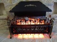 ELECTRIC FIRE IN COTTAGE STYLE