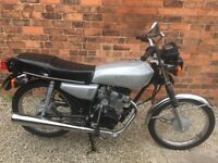 125cc 66 Plate Motorbike (Geared, not moped)