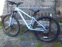 Mountain Bikes x 2 SRAM Gears, Suntour front suspension forks, Tektro disc brakes.
