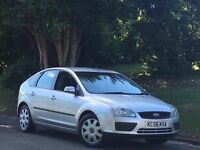 Ford Focus 1.6 5 door hatchback service history new timing belt 2 keys taxed and moted cheap car