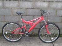 red bike trax 26''unisex