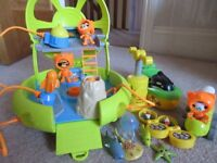 Octonaut toys for sale octolab and boat
