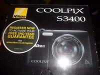 Nikon Coolpix 20MP Digital Camera