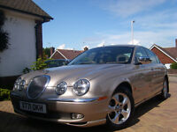 Jaguar S-type 3.0 V6. Full Leather, Sunroof. Fantastic, Powerful, Quiet, Smooth, Luxury Motor Car