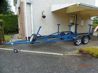 Building of all type trailers.  car, boat, dog box or on request.