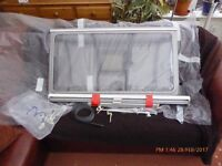 6 Used Caravan Windows + Blinds+fittings, assorted sizes