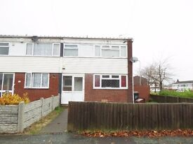 * 3 Bedroom house with large living room *Good location providing easy access to Bilston