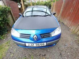 Renault Megane Convertible 2005 1.6 petrol