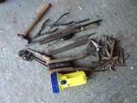 ASSORTED HAND TOOLS.