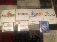 Final Fantasy PS1 and PS4 bundle (inc. Official Strategy Guides)