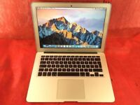 Macbook Air 13inch a1466 1.6ghz intel core i5 4gb ram 128gb 2015+ WARRANTY, l737