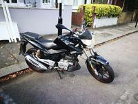 lexmoto zsx 125 motorbike