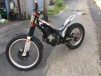 Gasgas txt 300 raga replica 2011 trials bike road register