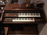 Eminent Organ P275 analogue drums and filter, spring reverb and Solina string ensemble