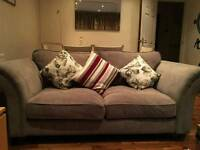 DFS grey sofa vgc