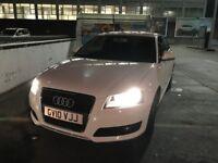 Audi A3 SPORT 1.4 MANUAL WHITE 3 DOOR ALLOY WHEELS Bluetooth reversing sensors aux