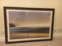Morning Visit (Marvin Pelkey) Framed Art Print