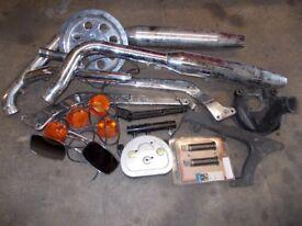 Harley Davidson job lot of parts
