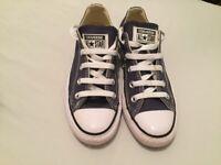 Converse trainers size 3 blue